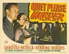 Quiet Please: Murder 1942 DVD - George Sanders / Gail Patrick